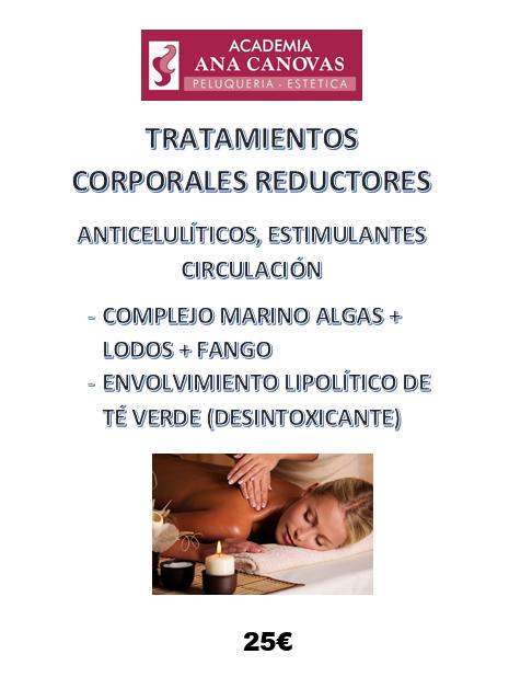 Promoción Tratamientos Corporales Reductores