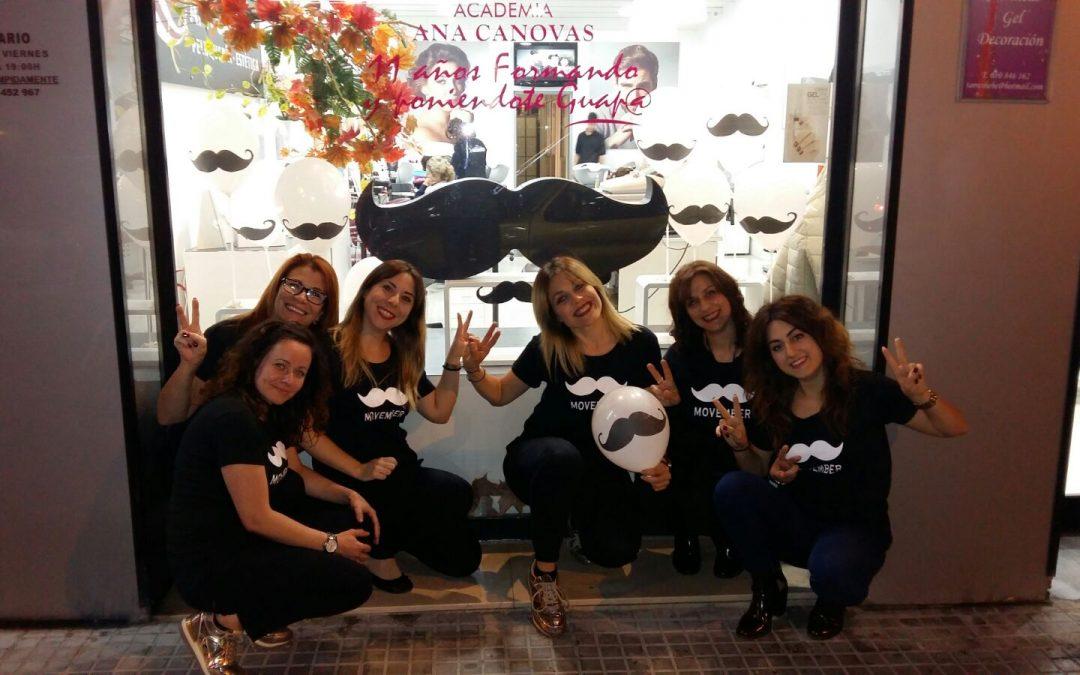 Academia Ana Canovas con Movember