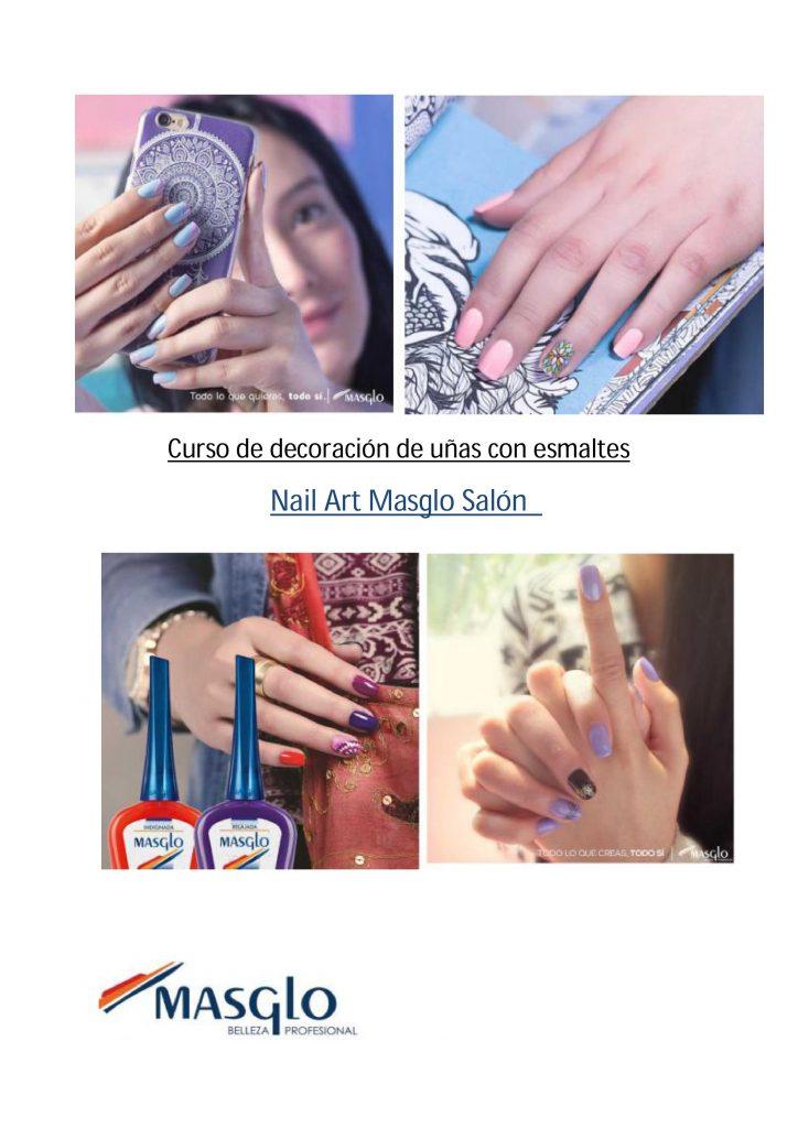 Curso de decoración de uñas con esmaltes Nail Art Masglo Salón