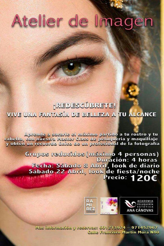 Master Class Maquillaje Peluquería Palma de Mallorca
