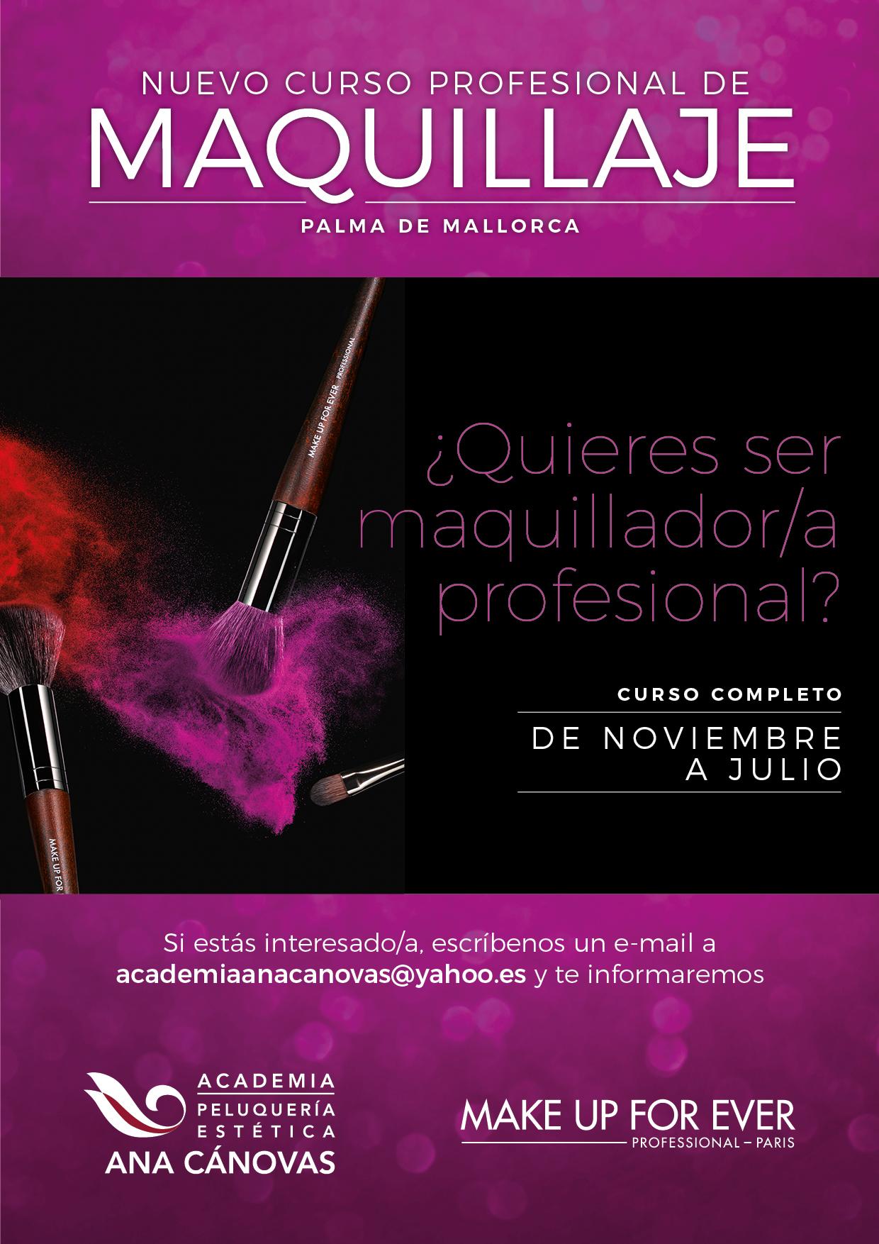 Curso de Maquillaje en Palma