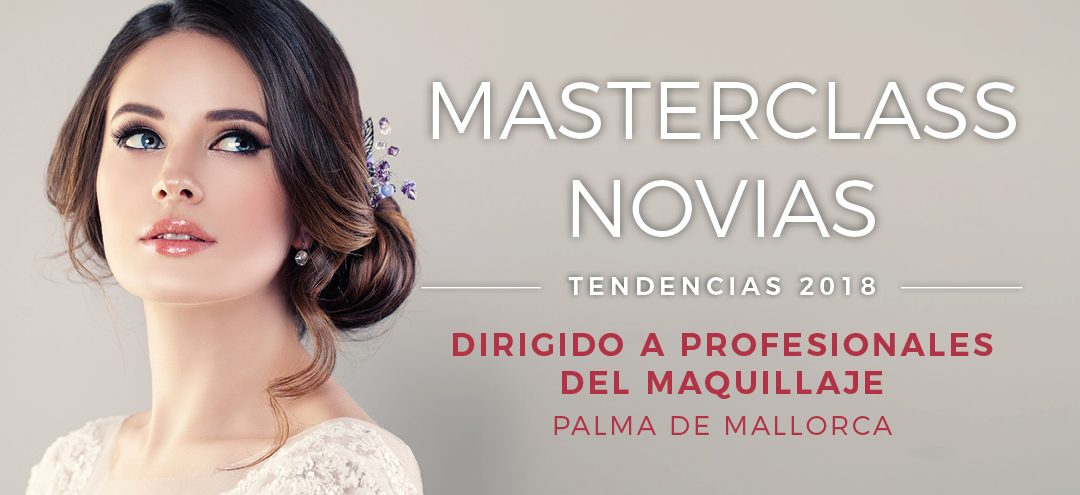 Masterclass Novias – Tendencias 2018