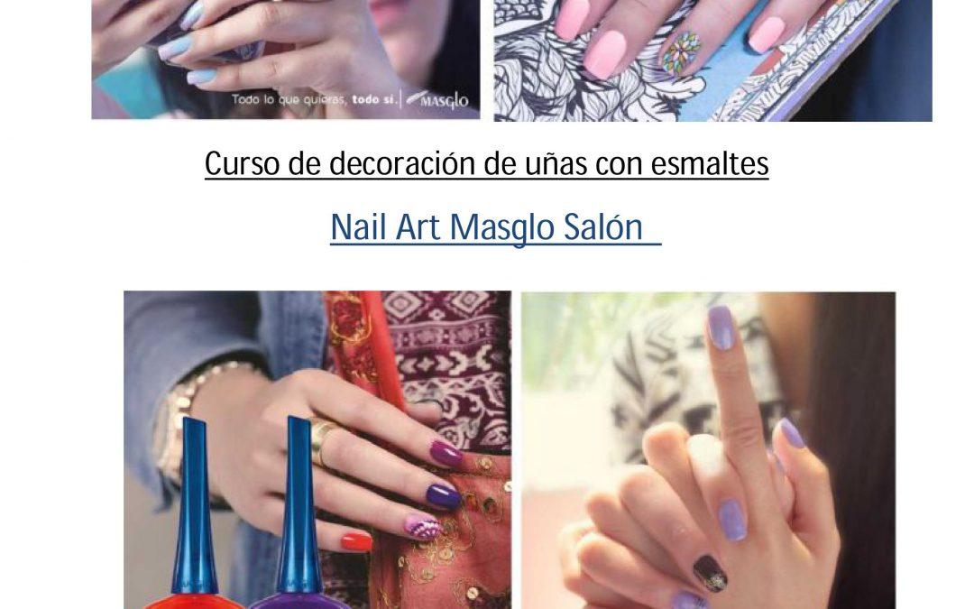 Curso de decoración de uñas con esmaltes Nail Art Masglo Salón en Palma de Mallorca