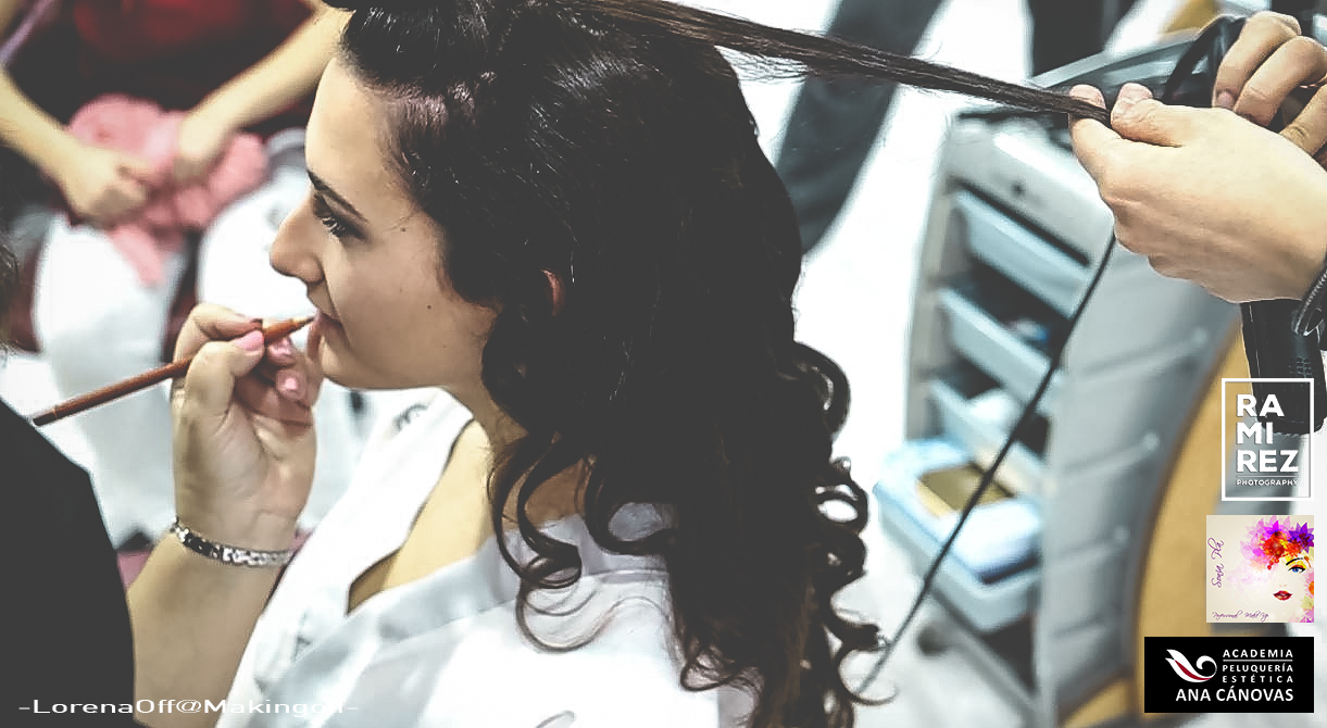 Trabajo de Peluquería de Academia Ana Cánovas para Tendencias Bodas 2017